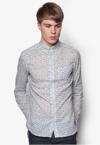 Berthold 印花尖沙咀 esprit長袖襯衫, 服飾, 印花襯衫