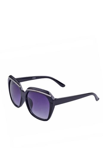 072fce7ac7b Greatvalueplus black Newyork Army KD9570 Oval oversized WayFarer Sunglasses  - Frame