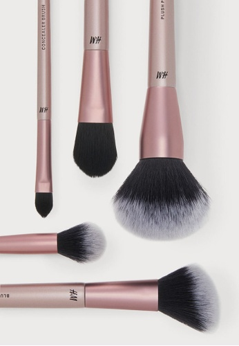 H&M pink Make-Up Brushes 09FD4BE124FA66GS_1