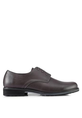 ZALORA brown Lace Up Dress Shoes 05690SH530903FGS_1