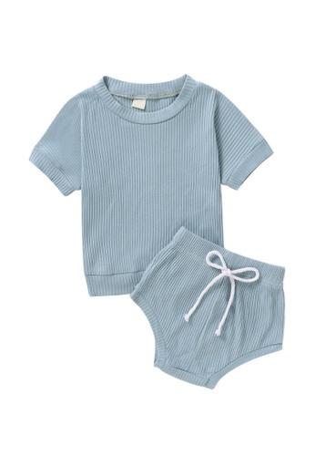 RAISING LITTLE blue Dallas Outfit Set 8F282KACF5DBD7GS_1