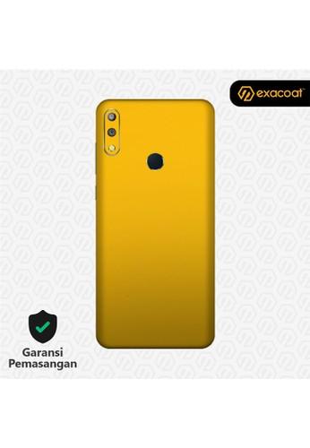 Exacoat Asus Zenfone Max Pro M2 3M Skins True Colors - Lemon Yellow E100BES80FBF7AGS_1