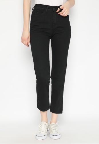 Nuber black Ren Boyfriend Elastic Jeans Black 3ECE9AAD69966EGS_1