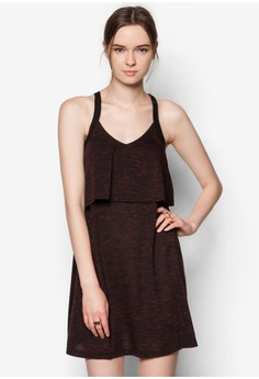 Textured Double Layer Dress