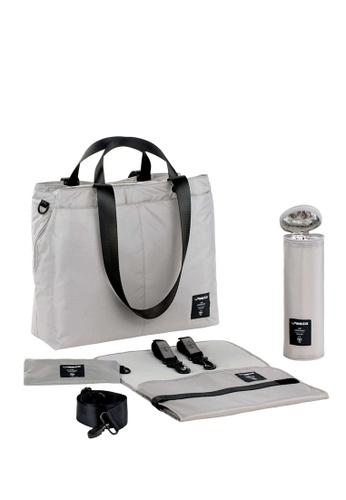 LASSIG Lassig Green Label Bente Diaper Bag(Grey) 571F1KC5F4AFFAGS_1