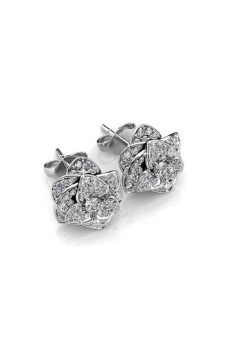 Her Jewellery silver Sweet Rosy Earring - Anting Crystal Swarovski by Her Jewellery ADD4AAC81A4C91GS_1