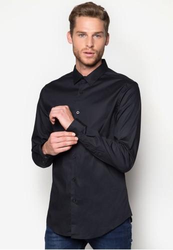 Samson 修身長袖襯衫, 服飾,esprit台灣 襯衫