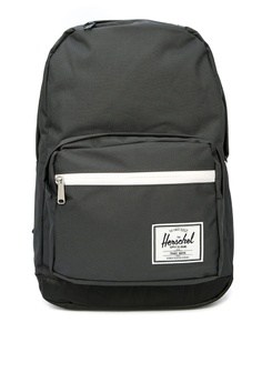 1c40a25d39 Herschel black Pop Quiz Backpack A7B61ACF34E3A4GS 1