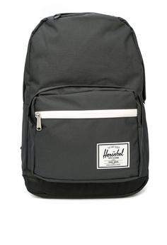 aa6523c9ef Herschel black Pop Quiz Backpack A7B61ACF34E3A4GS 1