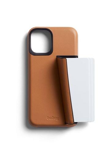 Bellroy brown Bellroy Phone Case - 3 Card iPhone 12 Mini - Toffee B86AEAC49B5510GS_1