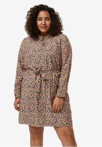 Vero Moda pink Printed Mini Dress 21411AAA396AD7GS_1