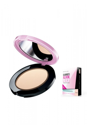 Maybelline beige Maybelline Clear Smooth Pressed Powder - Light DF97ABE639C936GS_1