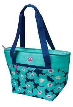 Vivid Floral Spring Cooler Tote 16 Bag