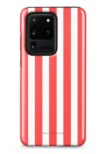 Polar Polar red Scarlet Stripe Samsung Galaxy S20 Ultra 5G Dual-Layer Protective Phone Case (Glossy) 7AB43ACDA3EC18GS_1