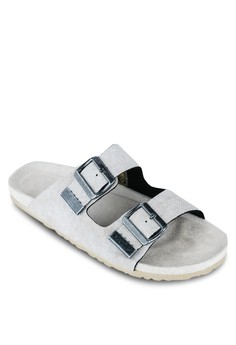 Twill Washed Sandals