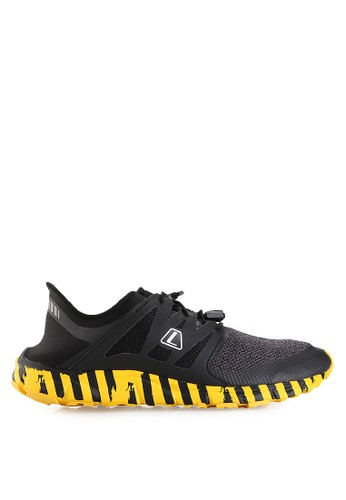 League black Kumo Racer Cros Bar Running LE825SH30PUJID_1