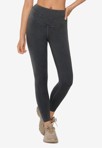 Lorna Jane black Washed Core Ankle Biter Leggings 5B951AA82F3884GS_1