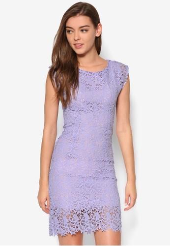 頂級蕾絲連身裙、 服飾、 夏日洋裝BLUESKYLOVE頂級蕾絲連身裙最新折價