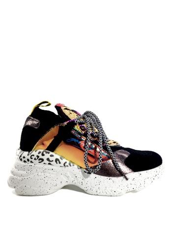 Twenty Eight Shoes 橘色 潮流針織襪子運動鞋 VT569 4BA31SHCB84C23GS_1