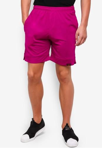 UniqTee red Jogging Style Bermuda Shorts 15586AABB3B7F7GS_1