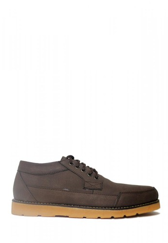 D-Island brown D-Island Shoes Low Boots Reborn Mens Leather Dark Brown 18E72SH929319FGS_1