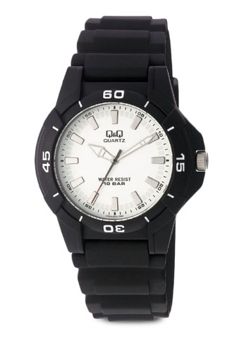 Q&Q esprit twVQ84J004Y 數字休閒手錶, 錶類, 其它錶帶