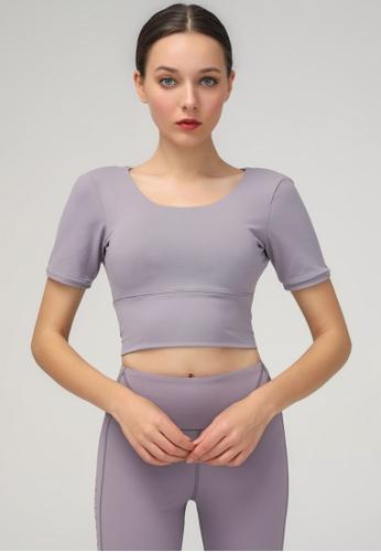 HAPPY FRIDAYS Women's Yoga Short Sleeve Tees DSG190102 FF6D6AABABE1D3GS_1