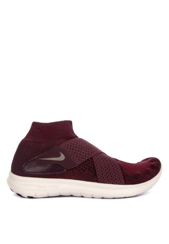Nike red Nike Free Rn Motion Fk 2017 Shoes 9E900SHF67A75CGS_1