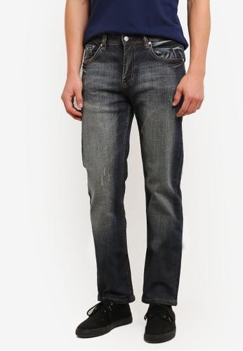 MILANO 藍色 Milano Denim Jeans MI248AA0S1MXMY_1