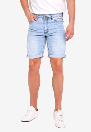 Cotton On 藍色 Roller Shorts 1E8C1AAF0BBA35GS_1