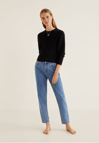 Buy MANGO Mom Relaxed Jeans Online on ZALORA Singapore a0507572eb71