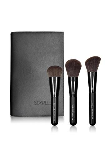 Sixplus 3pcs Black Makeup