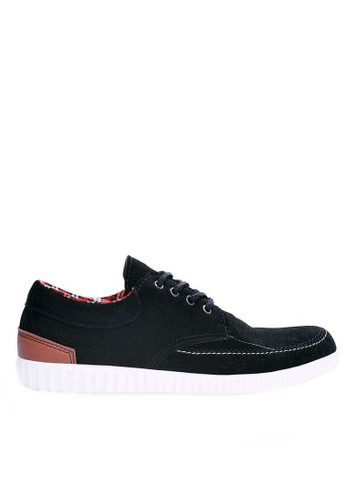 Sogno black Sepatu Sneakers Casual GHS 023 3029ESH40F417DGS_1