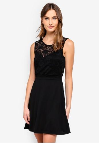 JACQUELINE DE YONG black New Green Lace Dress 1E059AA5ADBCA6GS_1