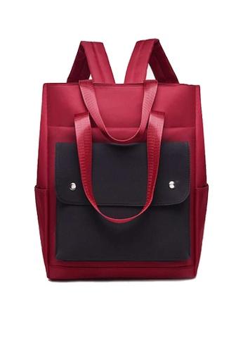 Twenty Eight Shoes red VANSA Nylon Oxford Backpacks VBW-Bp1190 A1815AC797B643GS_1