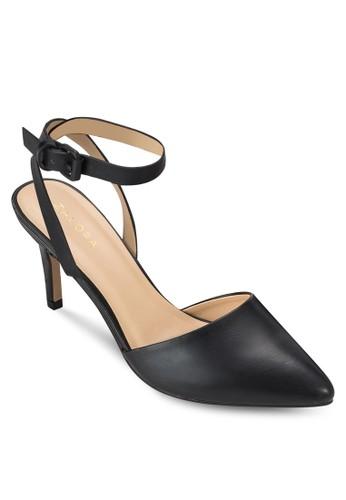 基本款繞踝高跟鞋、 女鞋、 鞋ZALORA基本款繞踝高跟鞋最新折價