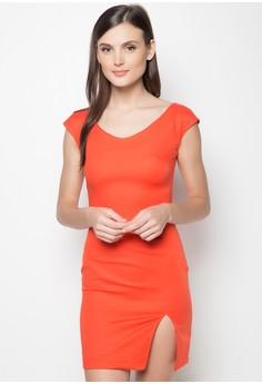 Linda Slit Dress