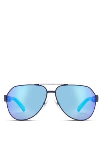 Dolce & Gabbana blue Sporty Inspire DG2149 Polarized Sunglasses DO384GL22WPDMY_1