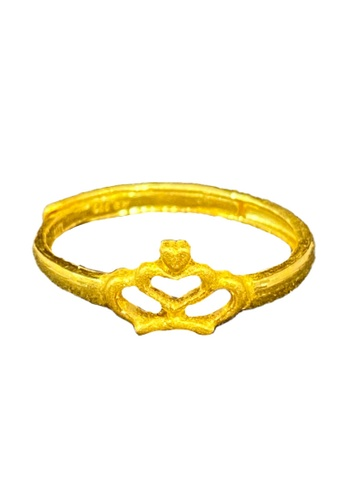 LITZ gold LITZ JINXI 999 (24K) Gold Crown Ring A8479AC8DAC7E4GS_1