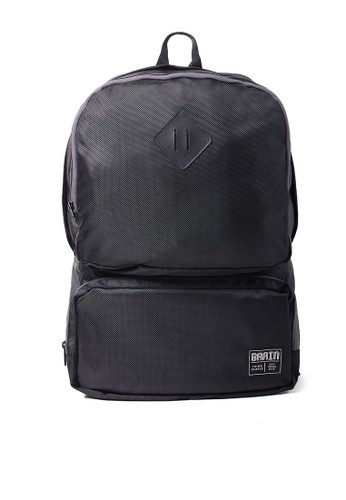 Brain Clothing black Tas Punggung GRAY LINE BR775AC86NJPID_1