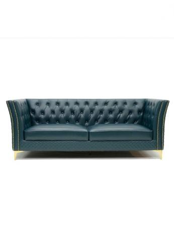 Choice Furniture green Choice Furniture - Shalom Chesterfield Sofa B267AHL70D5AAEGS_1