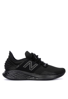 ca47262719 New Balance black Fresh Foam Roav Running Shoes D5E92SHAB709BAGS_1