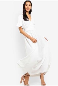 5be5d34e6dba ZALORA Wrap Maxi Dress RM 119.00. Sizes XS S