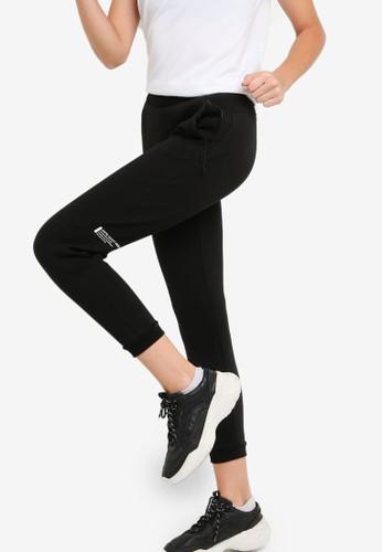 Anta black Cross Training Knit Track Pants 67F8DAA0384ABCGS_1