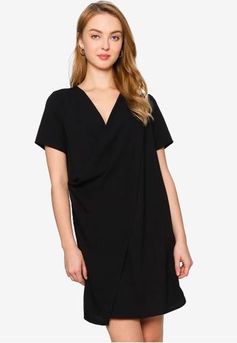 ZALORA WORK black Layer Detail Dress A6FC2AAC1A8D4AGS_1