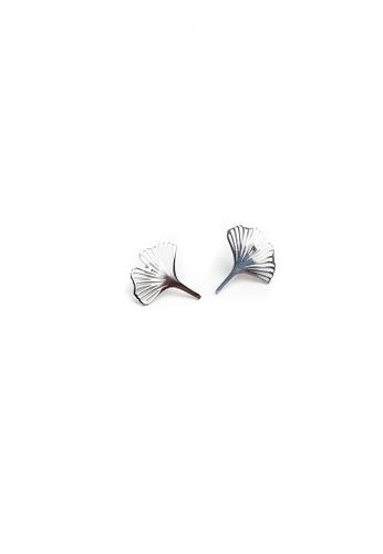 Gung Jewellery silver Clover Petal Stud Earrings in Silver CCD42AC1592397GS_1