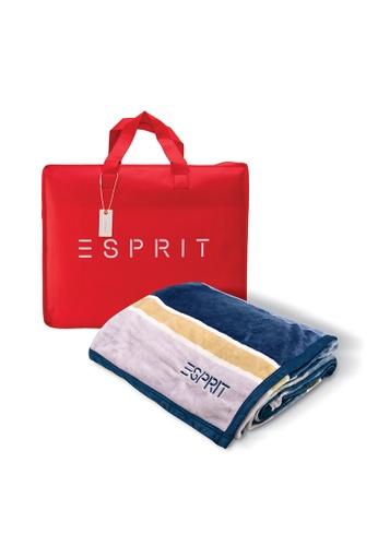 Esprit Esprit Flannel Fleece Blanket/ King Size 240 x 230cm 7AFD2HLC641945GS_1
