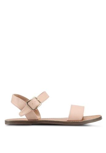 Dorothy Perkins pink Nude Floyd Studded Sandals 209C3SH00618DAGS_1