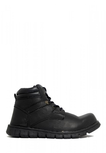 D-Island black D-Island Shoes Safety Boots High Urban Black 7035FSHB52D76FGS_1