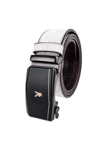 Playboy white 35mm Automatic Belt 7575DAC198C2B8GS_1